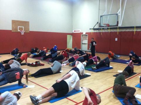 Core Workshop at Harbor Athletic Club