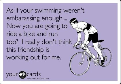 Ironman Diary Triathlon Humor