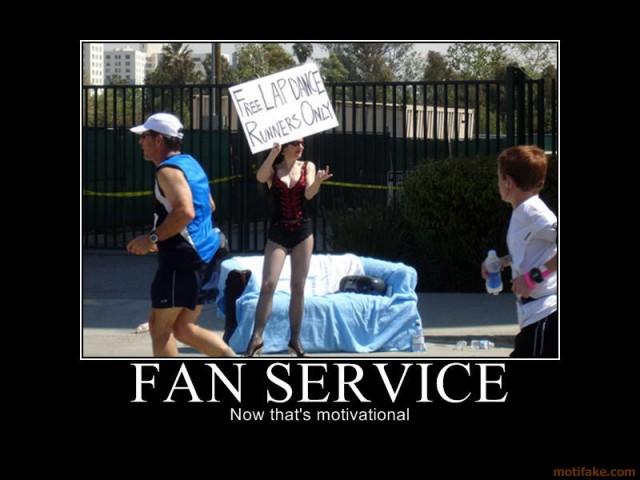 fan service life time marathon motivational girl dance