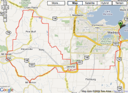 Ironman Wisconsin Bike Course Map