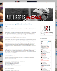 All I See Is Kona Website