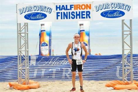 Door County Half Ironman Eric Engel