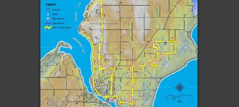 door county half ironman bike course
