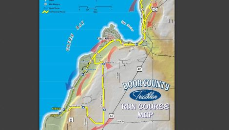 door county half ironman run course