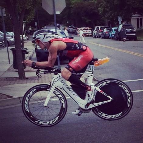 Ironman Coeur d'Alene Bike Eric Engel