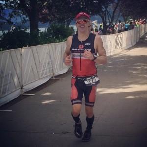 Ironman Coeur d'Alene run Eric Engel