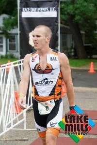 Lake Mills Triathlon Race Report - Eric Engel
